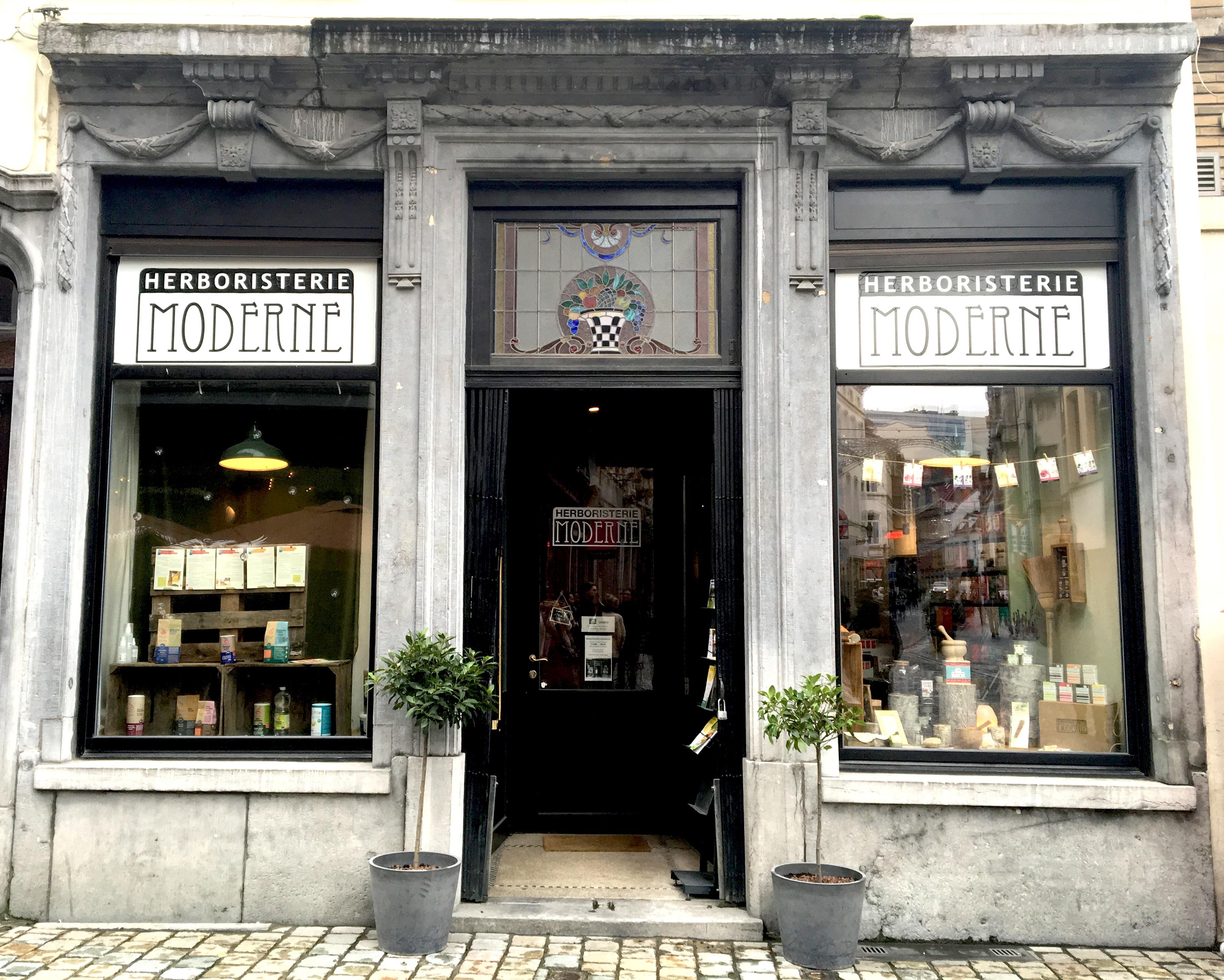 magasin l'herboristerie moderne