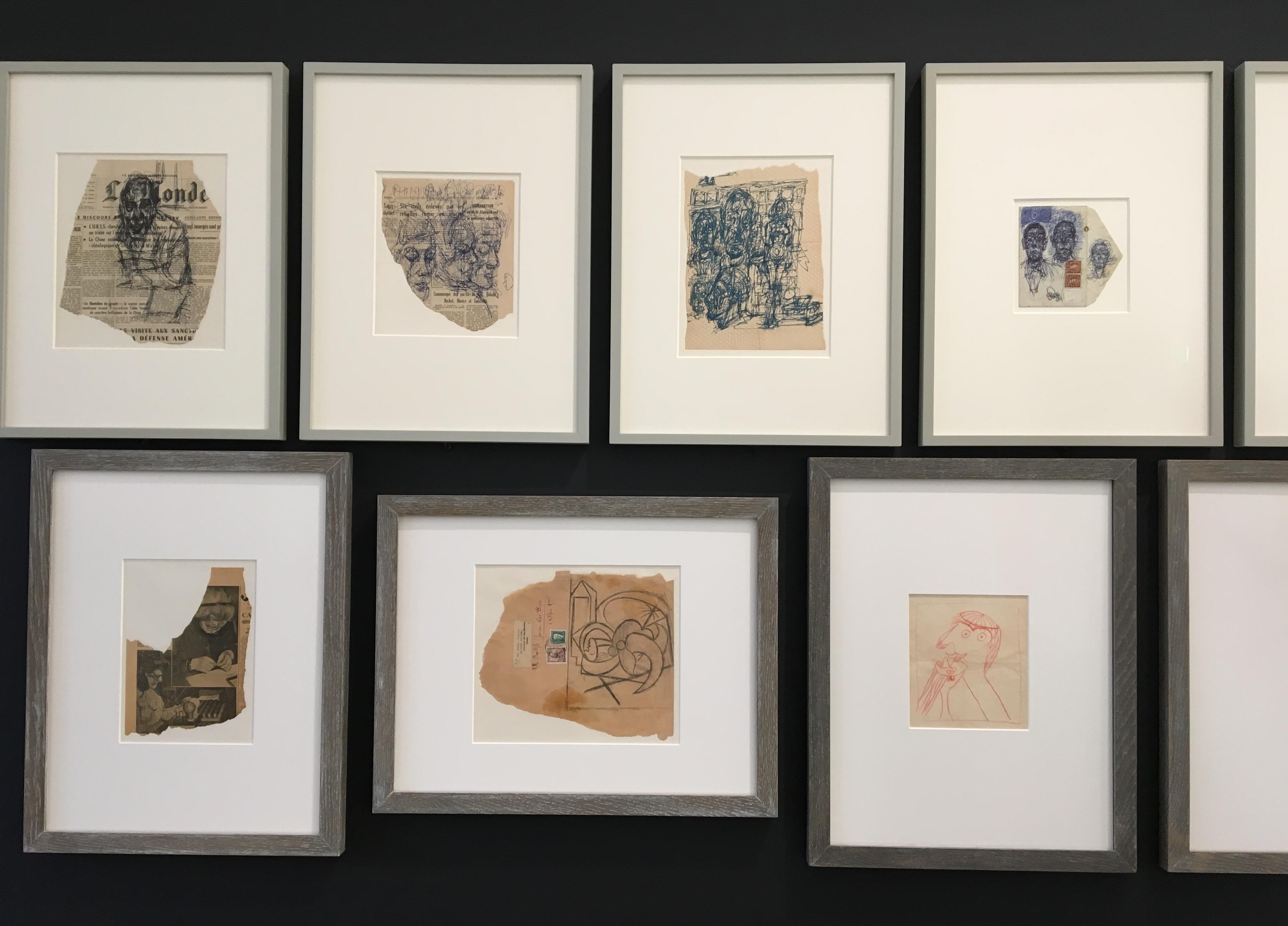 Dessins Picasso Giacometti