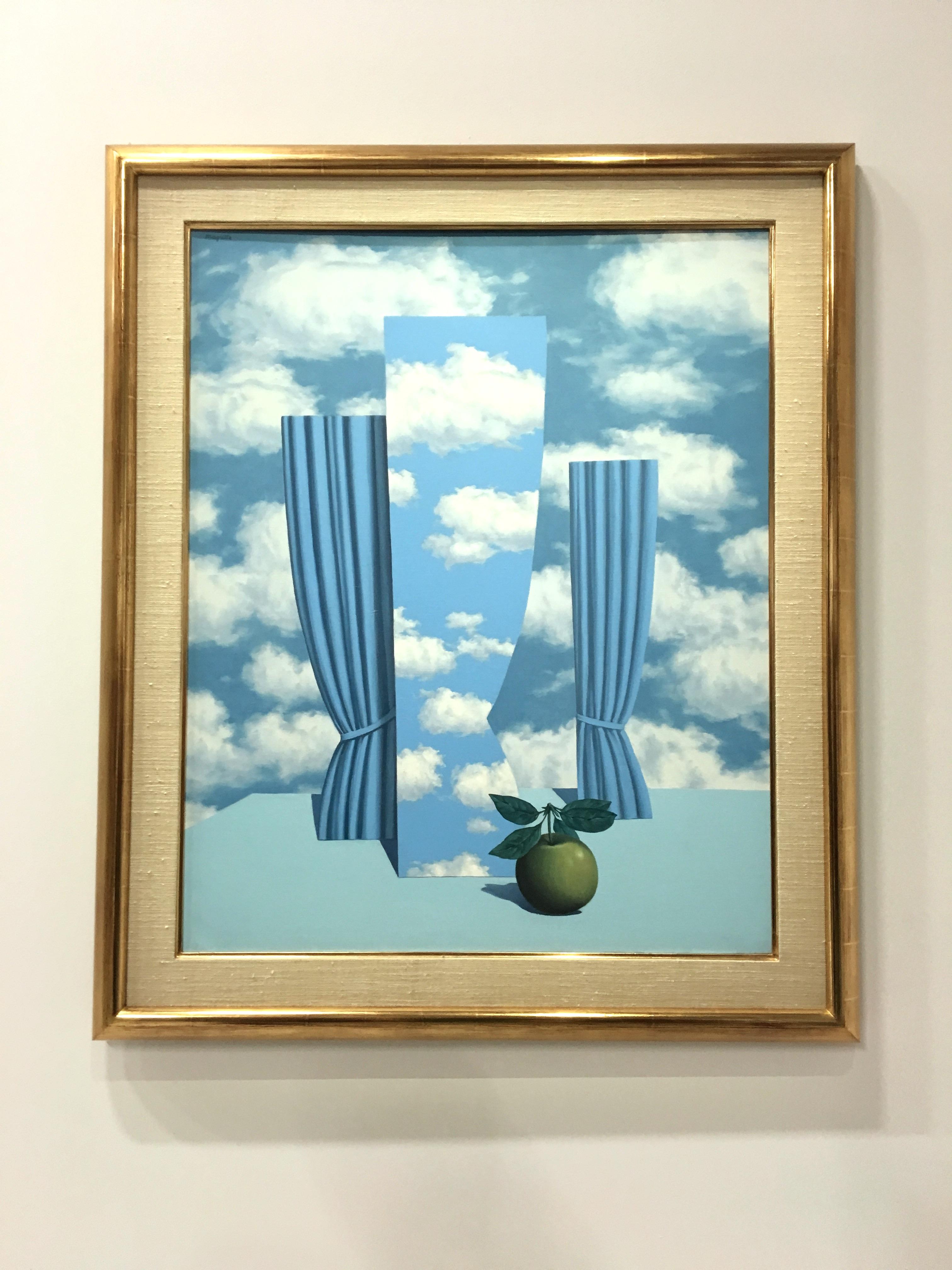 Peinture de Magritte