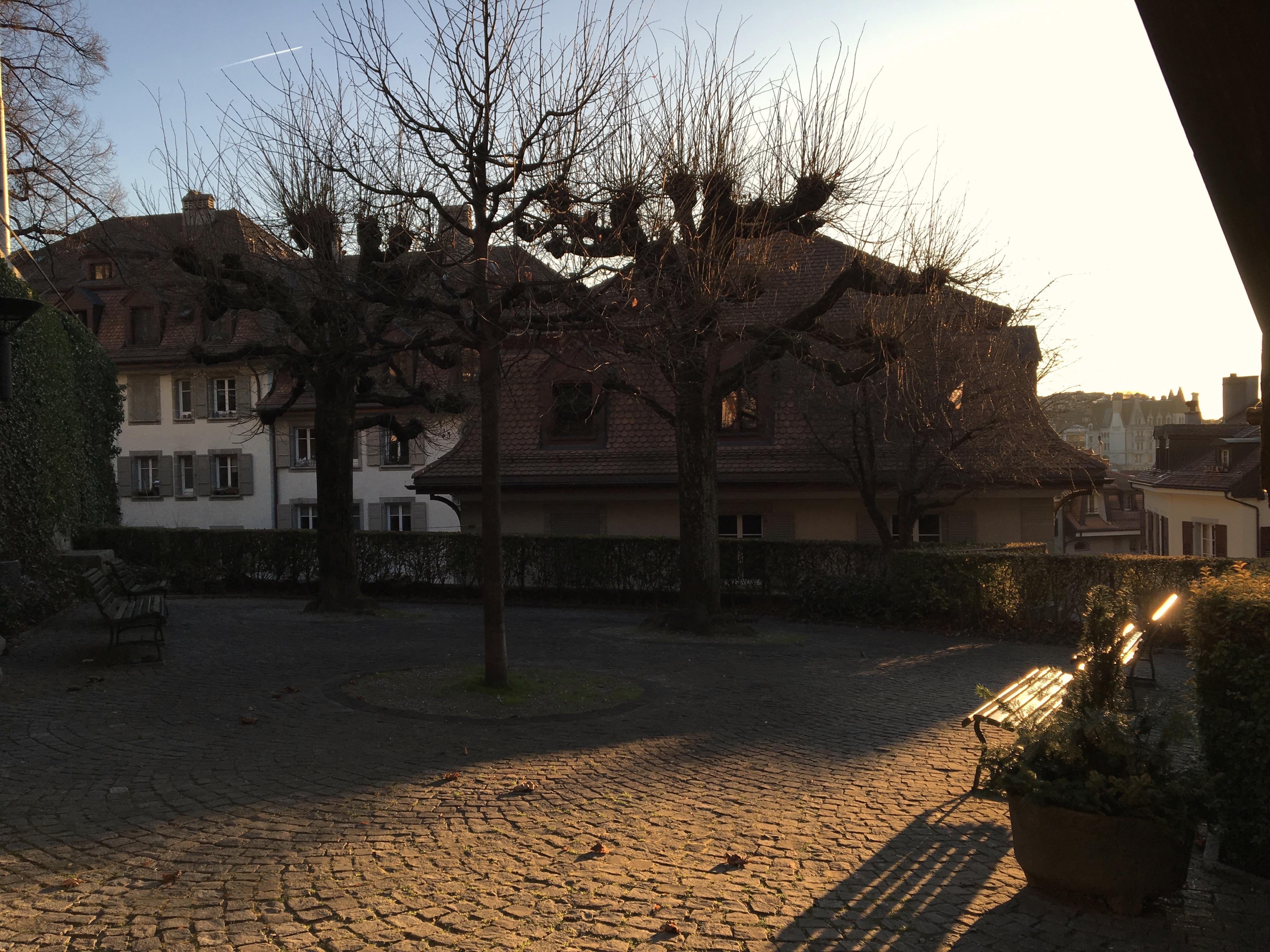 Place à Lausanne