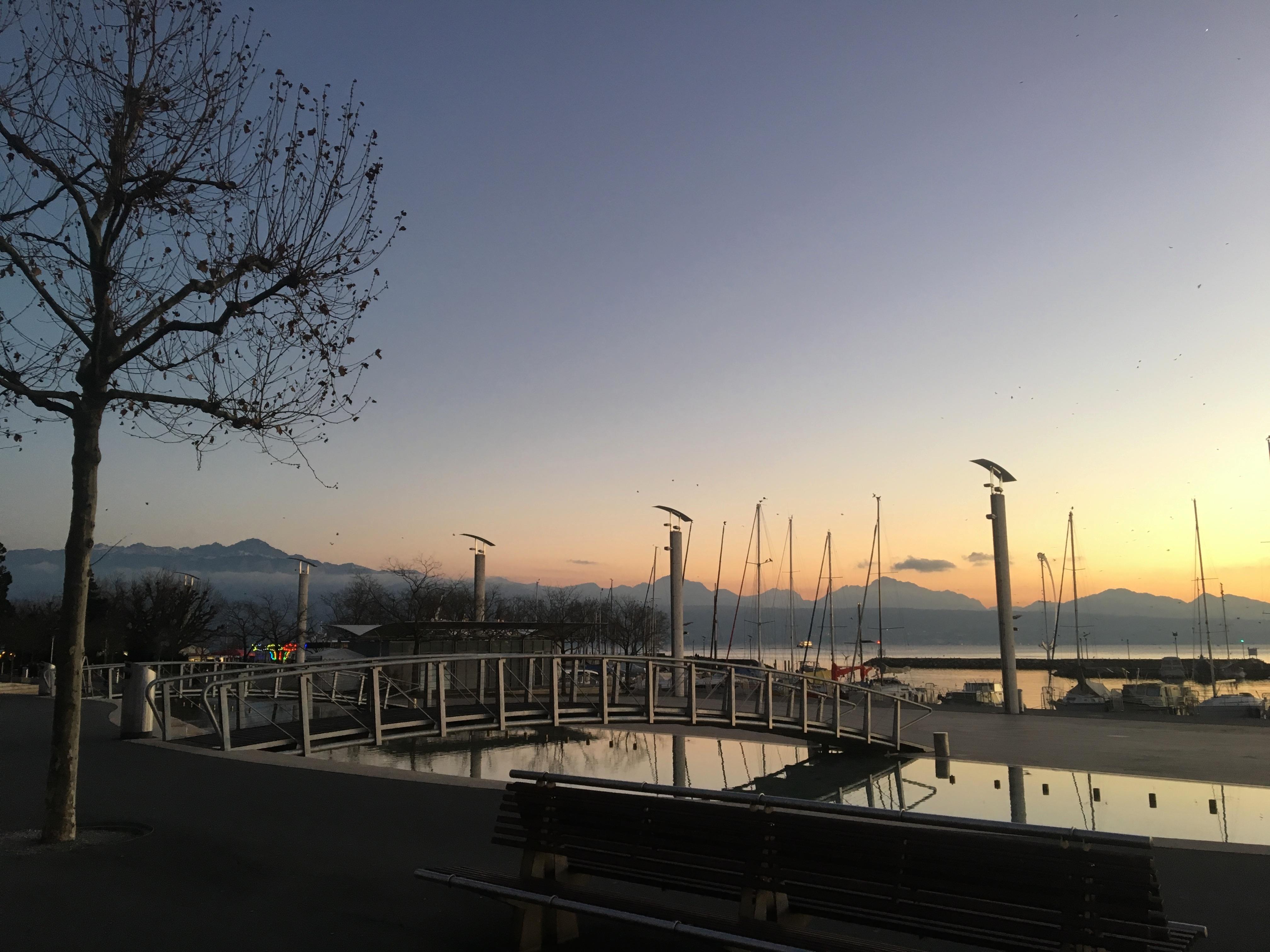 Port lac Léman Lausanne